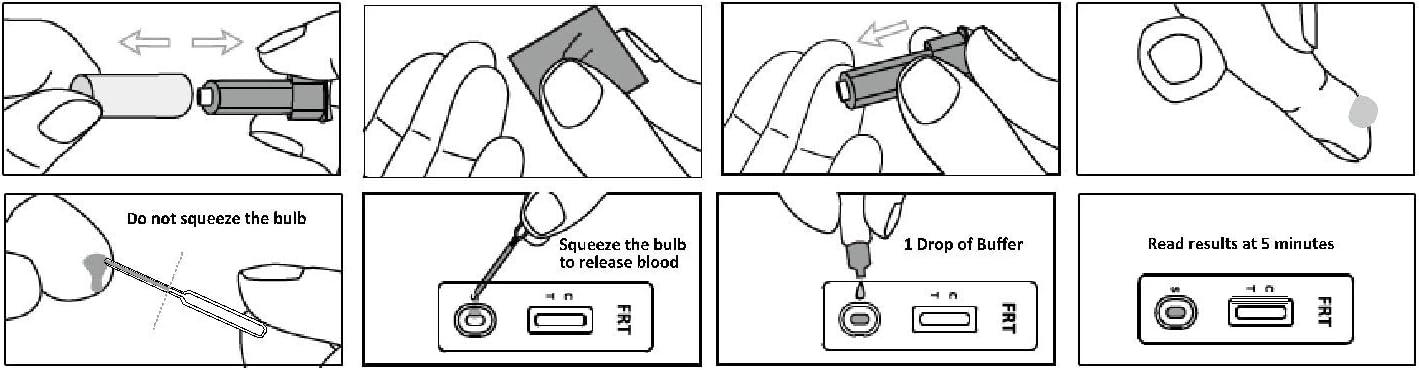 Günter Keul GmbH Keul-o-test ferritina/deficiencia de hierro / 1x casete de prueba rápida