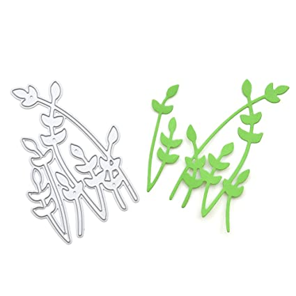 Paper vector art. Grass origami isolated background. Floral.