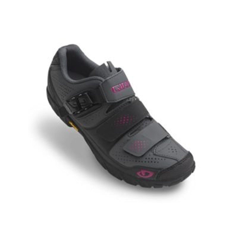 Giro Terradura靴& e-tipグローブバンドル B01M4KD90Z  Dark Shadow / Berry 41