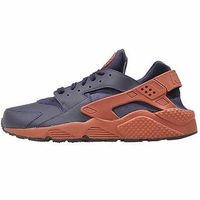 best service f4a13 36ed0 ... get nike mens huarache running shoes obsidian black mars stone 318429  417 size 8 954b6 2effc