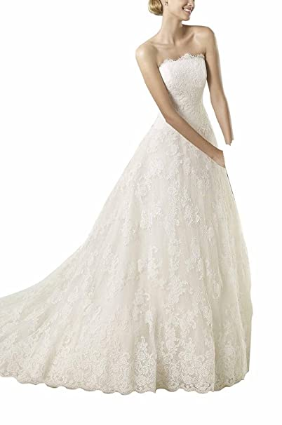 GEORGE BRIDE onirico taeger Los lungo principessa Tulle pizzo da sposa  abito da sposa avorio 34 ... 6329c25f7e8