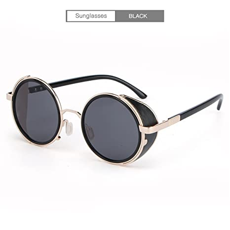 DYEWD Gafas de sol para Hombre y Mujer,Gafas de Sol Punk ...