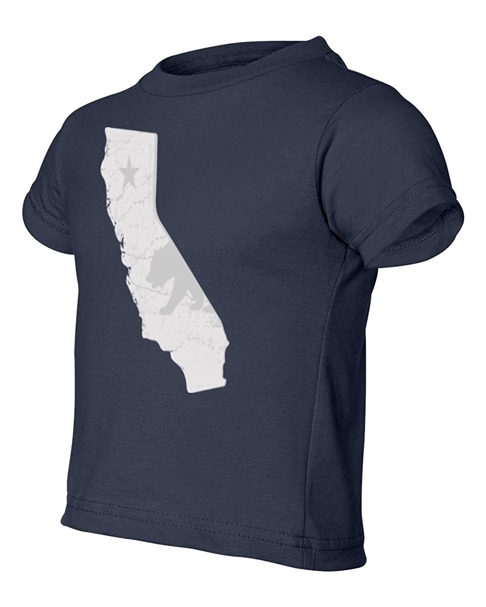 Societee California State Map Toddler Little Boy Infant T-Shirt