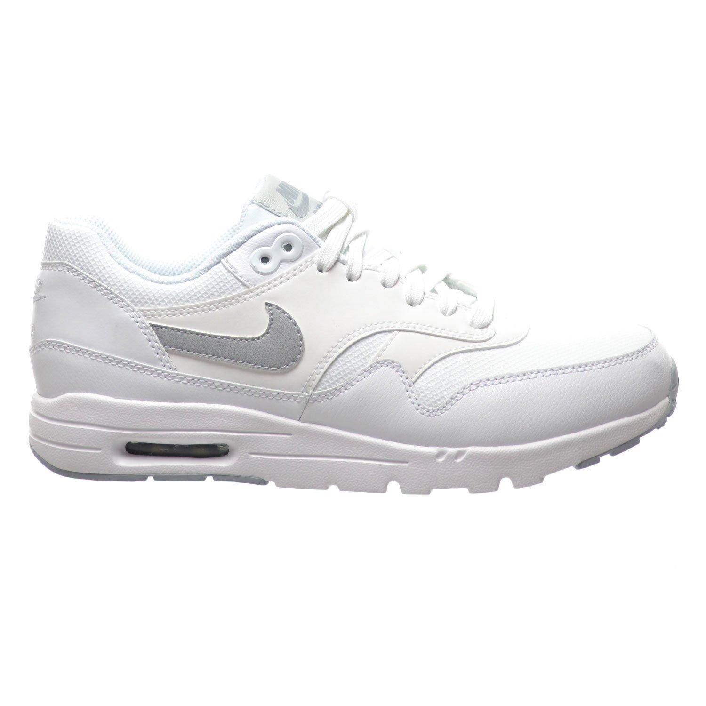 best service 3edb2 13226 Amazon.com   Nike Air Max 1 Ultra Essentials Women s Shoes White Wolf Grey Pure  Platinum Meltallic Silver 704993-102   Running
