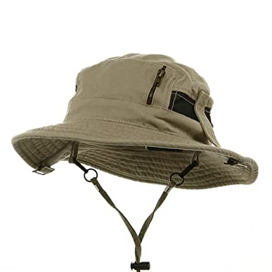 e08d840b4ae Canvas Fisherman Hat-Khaki at Amazon Men s Clothing store  Bucket Hats