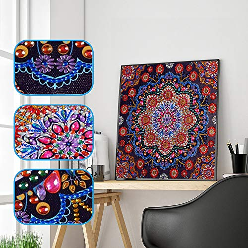 CZJJ Embroidery Painting Special Shaped 5D Diamond Painting Drill Cross Stitch Kit DIY Crystal Full Diamond Painting Art Craft Embroidery Needlework Drill Decor Cross Stitch Kit -