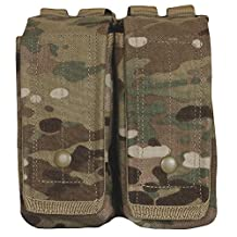 Fox Outdoor Products AR-15/AK-47 Dual Mag Pouch Multicam