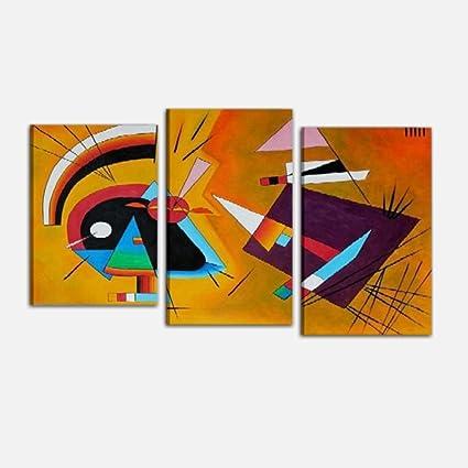 Cuadros Abstractos modernos Aceite sobre lienzo abstractos marco ...