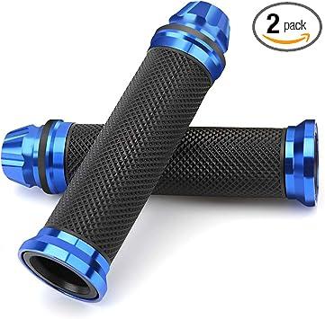 Non-slip Rubber  22mm Handlebar Grips  7 Colors