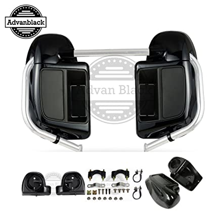Automobiles & Motorcycles Lower Vented Fairing Box Pods For Harley Touring Flht Flhx Fltr Road Street Electra Glide Ultra-classic 1990-2013 Customers First 6.5 Speaker