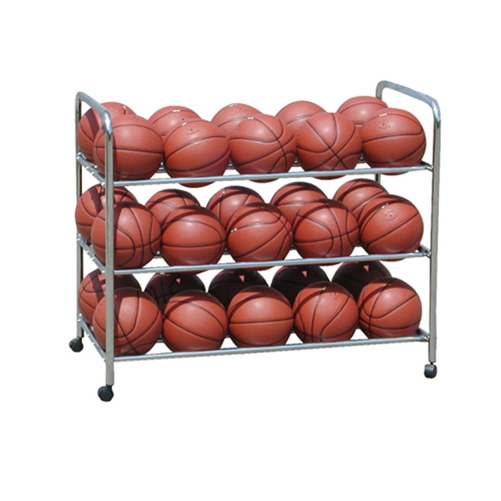 Double Wide Steel Ball Cart Sport Supply Group 1237634
