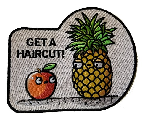 uit Humor - Novelty Iron On Patch Applique ()