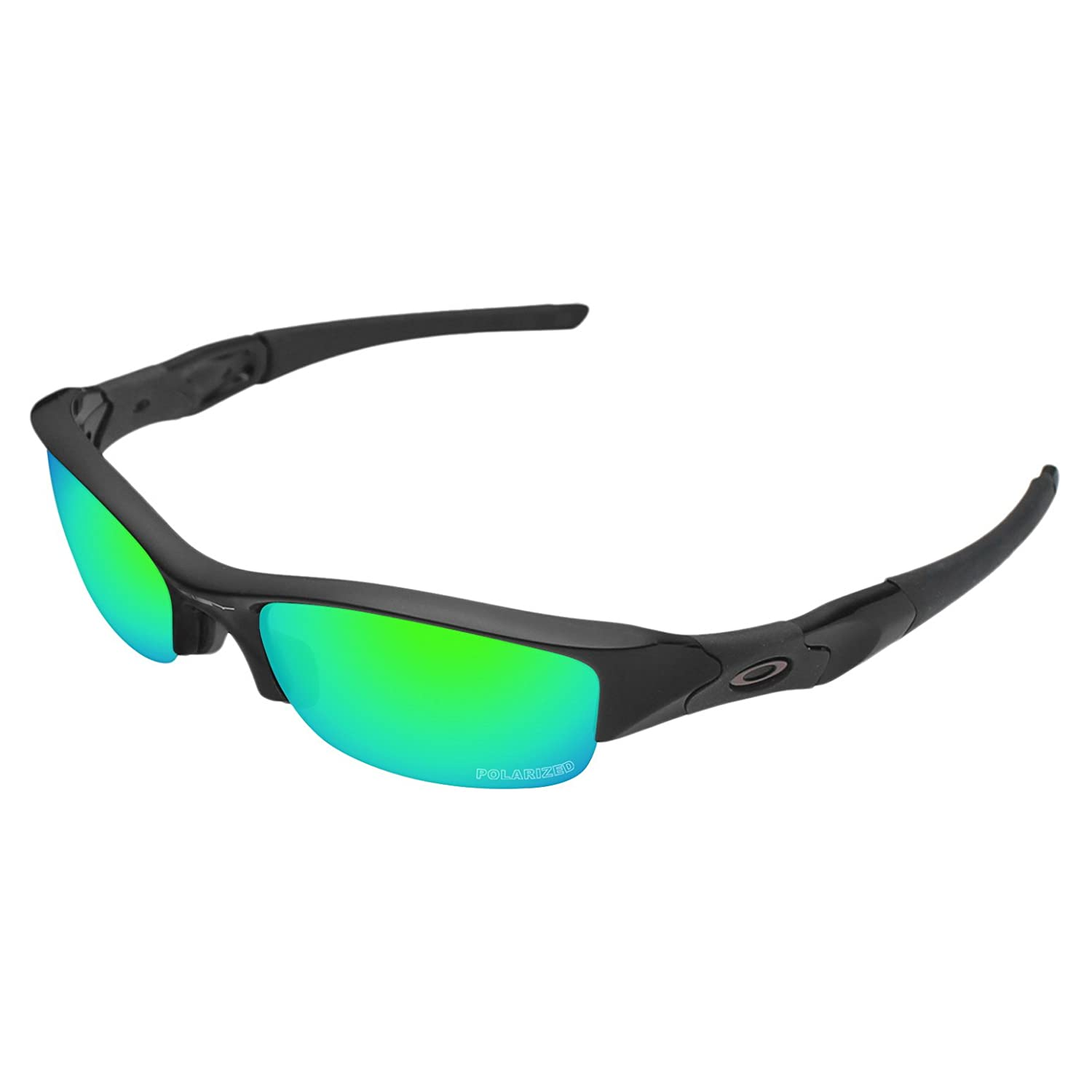 f27e80016ec Tintart Performance Replacement Lenses for Oakley Flak Jacket Polarized  Etched-Emerald Green  Amazon.ca  Clothing   Accessories