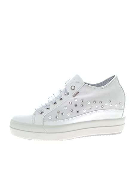 683609713c27e IGI CO 3156900 Bianco Sneakers Donna  Amazon.it  Scarpe e borse