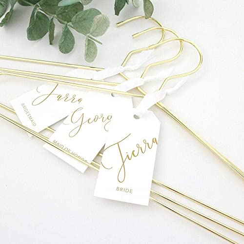 Monogram Wedding Hanger Shower Gift Vintage Hanger Bride Hanger Gift for Her Rose Gold Wedding Rose Gold Glitter Hanger Diamond Ring
