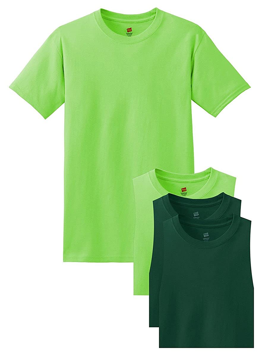 Hanes Comfort Soft Crewneck T-Shirt Sets 4 Pack