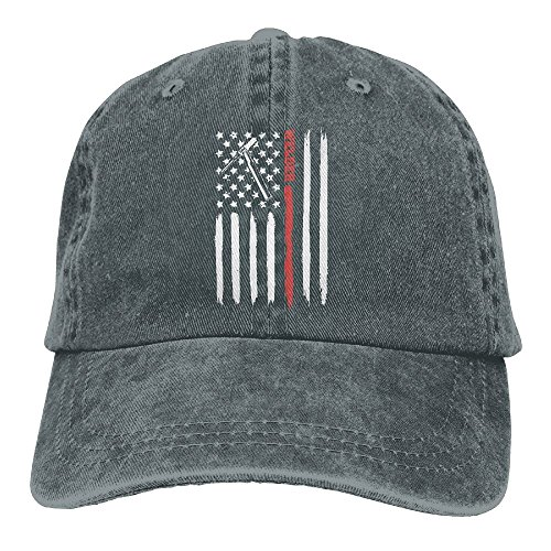 Tig Torch Welding Welder With USA Us American Flag Washed Vintage Adjustable Denim Cap Baseball Caps For Man And Woman