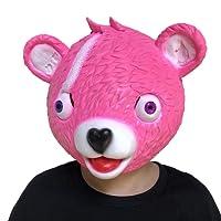huichang Fortnite Masque de tête d'anniversaire pour fête et Enfant avec Inscription en Allemand Dark Knight 25 x 30 cm