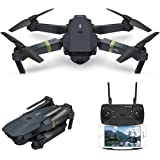 Drone With Camera Live Video, EACHINE E58 WIFI FPV Quadcopter With 2MP HD Camera Altitude Hold Foldable Arm Mode APP Control RC Selfie Pocket Drone RTF