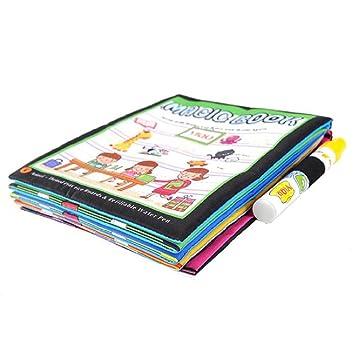 Logobeing Juguete Del Bebé Nuevo Mágico Dibujo De Agua Para Colorear Libro Para Pintar Los Animales Para Niñas Niños Regalo Juguete Didácticos