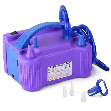 Amazon.com: MESHA inflador de globos eléctrico portátil ...