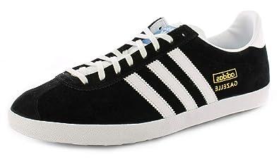 462812939d31b adidas New Mens Gents Black Originals Classic Athletic Shoes Trainers. -  Blk