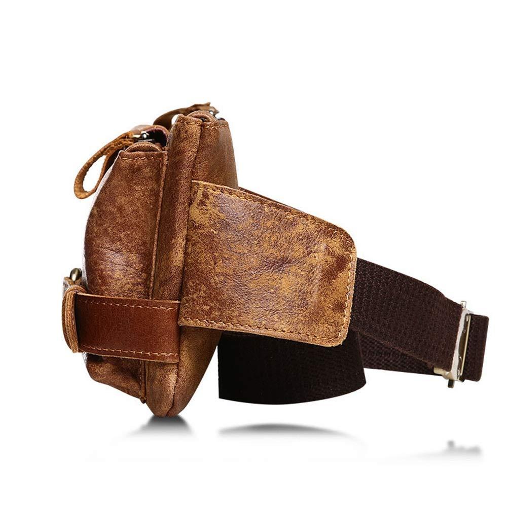 Fanny Pack Yzibei Genuine Leather Lambskin Waist Bag
