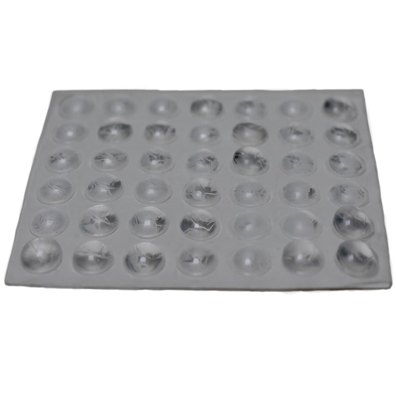 42 Klebepuffer Gummipuffer Türpuffer transparent selbstklebend ...