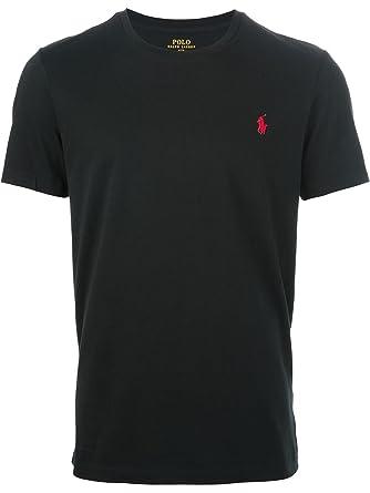 Classic Ralph Fit Mens Shirt Xxl Short Sleeve Black Polo Lauren T klwOuXiTZP