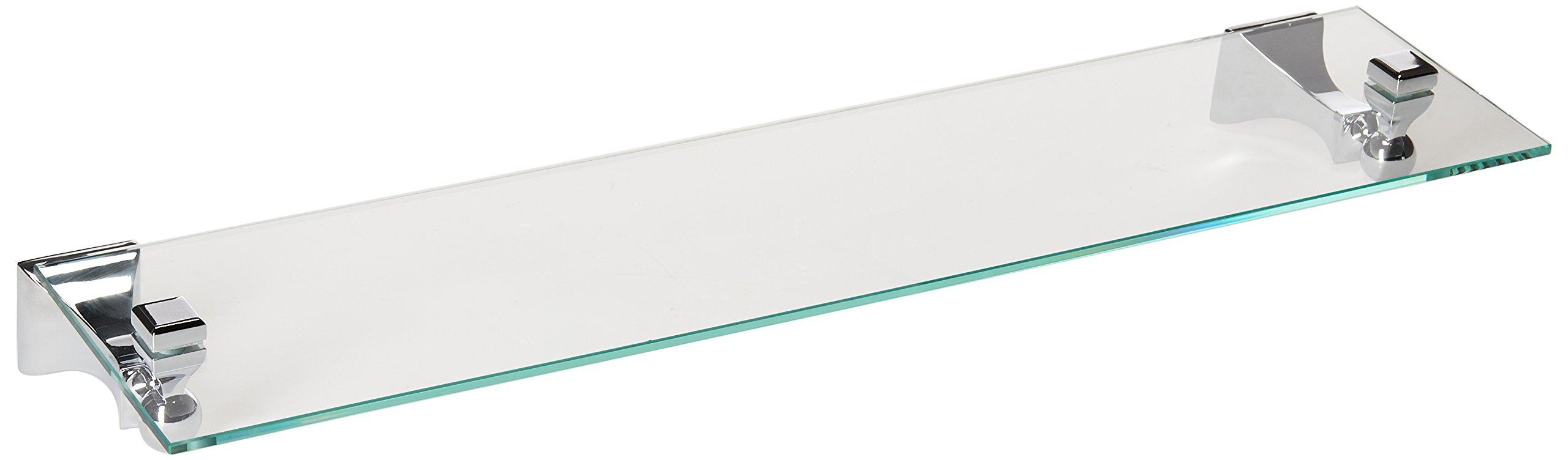 Moen DN8390CH Retreat Glass Vanity Shelf, Chrome