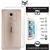 TheGiftKart™ Combo for InFocus EPIC 1 (Combo of 1 Back Cover + 1 Tempered Glass) - TheGiftKart™ Ultra Clear Thin Protective Soft TPU Back Cover + Premium HD Tempered Glass Screen Protector with Rounded Edges