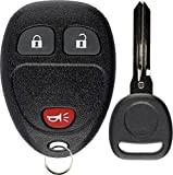 2015 chevy silverado 2500 program - KeylessOption Keyless Entry Remote Control Car Key Fob Replacement for 15913420 with Key
