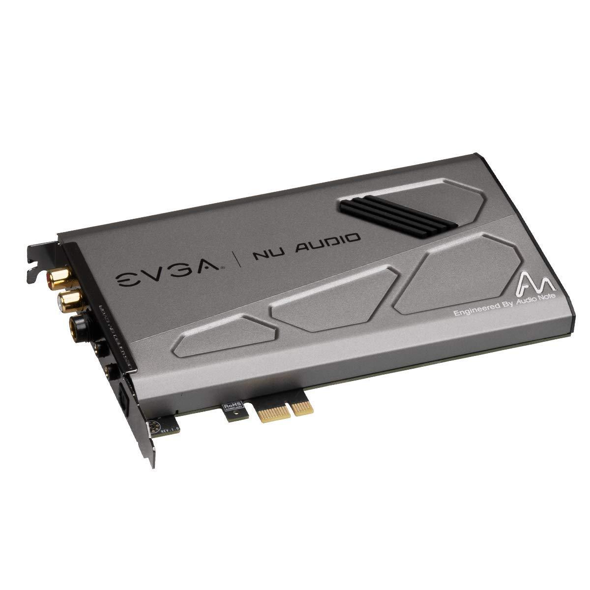 EVGA Nu Audio Card, 712-P1-AN01-KR, Lifelike Audio, PCIe, RGB LED, Designed with Audio Note (UK) by EVGA (Image #4)