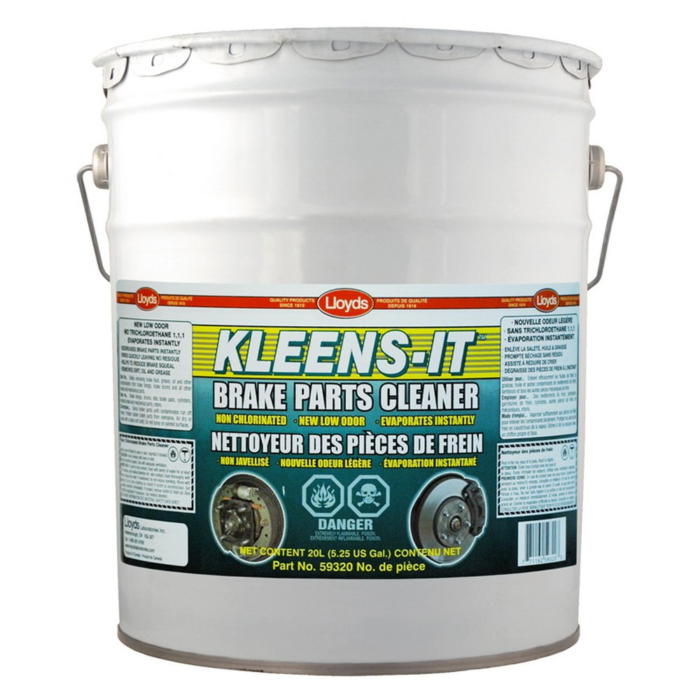 Kleens-It Non Chlorinated Brake Parts Cleaner, 59320, 20 L pail (5.25 gal) by Kleens-It