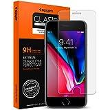 【Spigen】 スマホフィルム iPhone8 / iPhone7 対応 薄さ0.4mm ガラスフィルム 強化ガラス 液晶保護フィルム 高透過率 液晶パネル 保護 3DTouch対応 042GL20607 (GLAS.tR SLIM (1枚入)