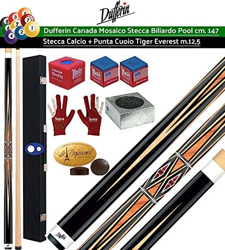 Dufferin mosaico Serie D533. Taco Pro Billar Pool 2 piezas, cm.147 ...