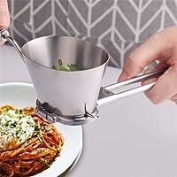 VWH Manuel Hachoir à Légumes en Acier Inoxydable Persil Shredder Hachoir pour Epice Poivre Légumes Râpe Gadgets de Cuisine