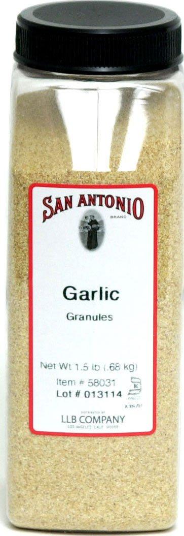 24 Ounce Premium Restaurant Granulated Garlic (Granules)