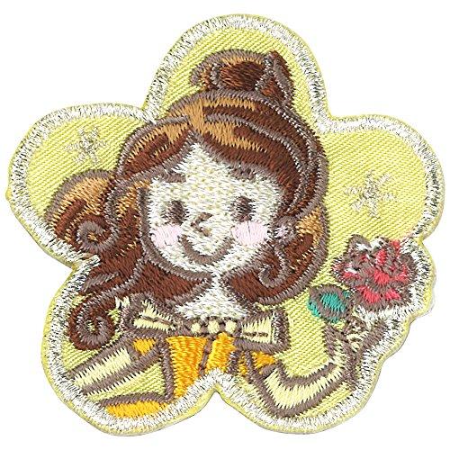 ミノダ ディズニープリンセス コミックワッペン ベル フラワー D01Y9177の商品画像