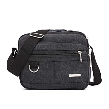 dbfc2f853a89 Clearance Sale! Baiggooswt Men Outdoor Sports Canvas Unbalance Backpack  Crossbody Single Shoulder...