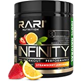 RARI Nutrition - Infinity Pre Workout Powder - Natural Preworkout Supplement for Men and Women - Keto and Vegan Friendly…