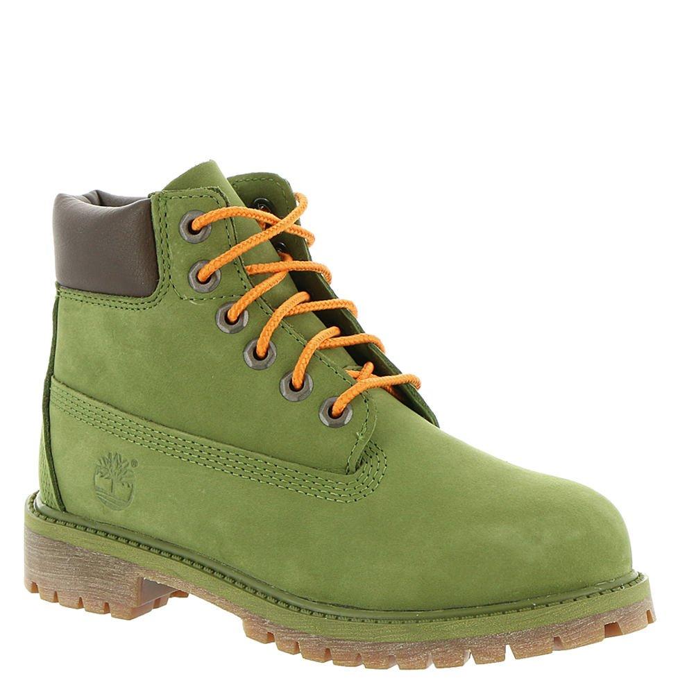 Timberland Kids Boy's 6'' Premium Waterproof Boot Core (Little Kid) Pesto Waterbuck 1 M US Little Kid M