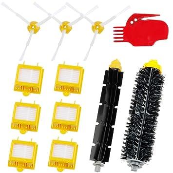 Zacro Cepillos Reposición de Accesorios para Aspiradoras iRobot Roomba Serie 700 760 770 780 y 790