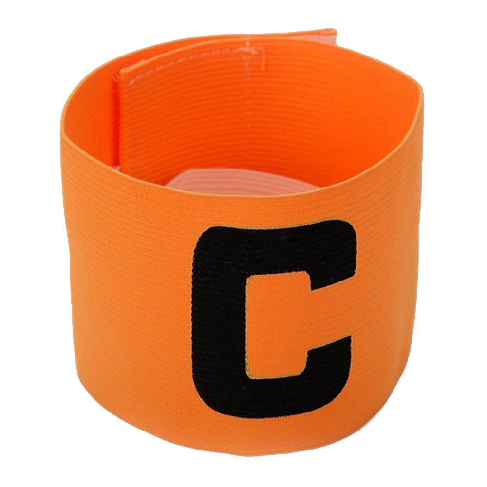 El Brazalete de Capit/án de F/útbol de Color Naranja