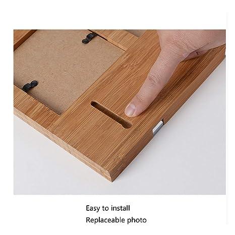 Amazon.com: Jiji - Perchero de pared simple de bambú para ...