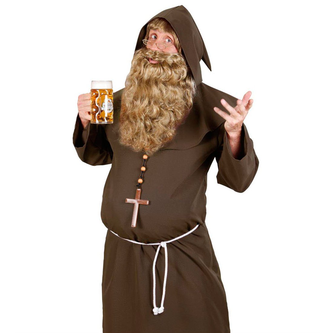 Disfraz de monje vestido de monje disfraz túnica de monje ...