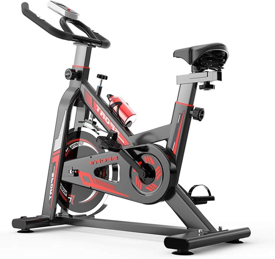 HLeoz Bicicleta Estática de Spinning, Profesional con Sensor de ...
