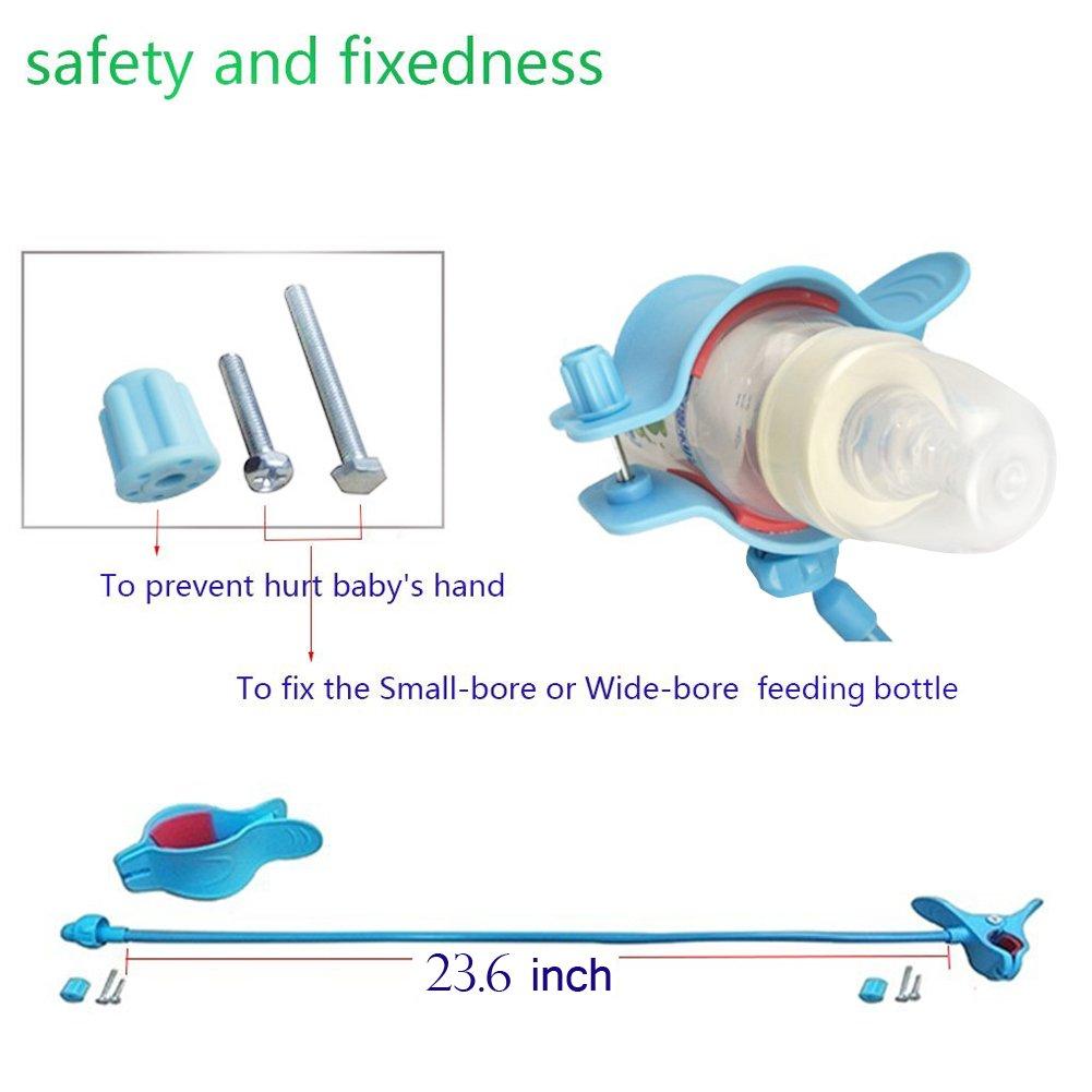 Domybest Babyflasche Clip Babyflasche Klammer Kinderwagen babyflaschenhalter