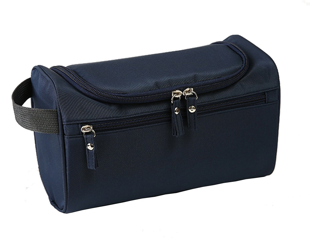 Hanging Toiletry Bag Travel Bag Water Resistant Lightweight Wash Gym Shaving Bag Organizer for Women Men 10 x 5.5 x 5 inches(Dark Blue)