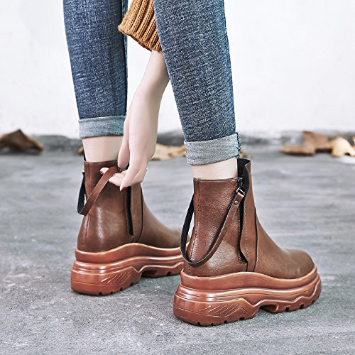 Camel and Shoes Boots Spring Winter GUNAINDMXShoes cashmere Match All YdSHxp0